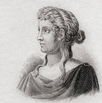 Sappho, C. 630 - 612 Bc To C. 570 Bc Poster