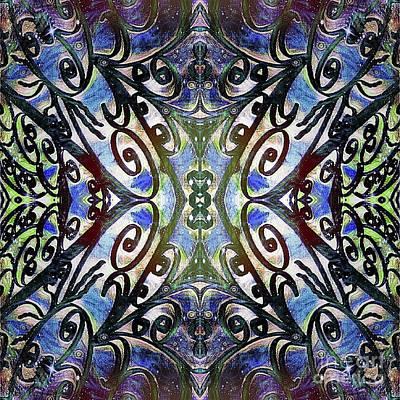 Sarasota Swirls Poster