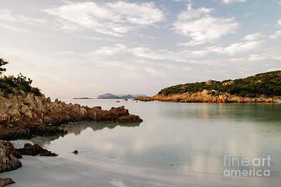 Poster featuring the photograph Sardinian Coast I by Yuri Santin