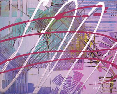Satellites Poster by Melissa Goodrich