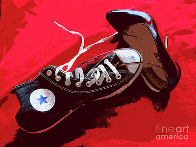 Living In Converse Saturday Night. Poster