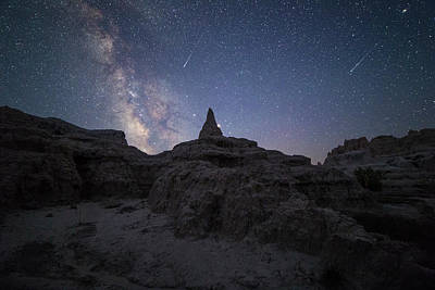 Saturn Point Poster by Aaron J Groen