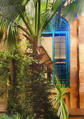 Savannah Window Poster