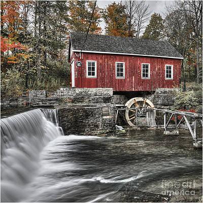 Sawmill At Morningstar 1 Poster