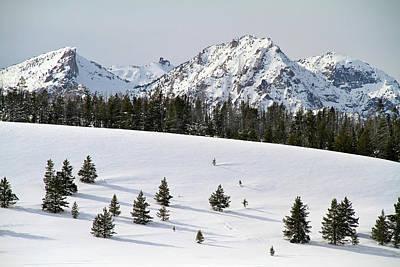 Sawtooth Wilderness Central Idaho Poster