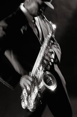 Sax Man 1 Poster