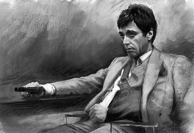 Scarface 2 Poster by Ylli Haruni
