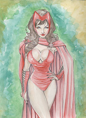 Scarlett Witch Poster