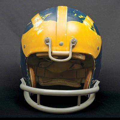 Scarred 1970s Wolverine Helmet Poster