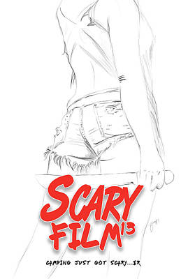 Scary Film 13 Pencils Poster