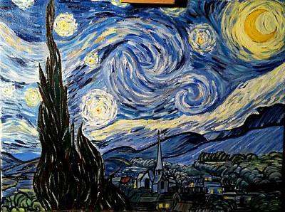 Starry Night Poster by Ctirad Matyas