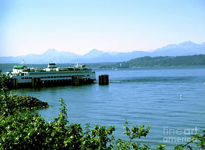 Scenic Ferry Image Poster