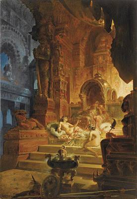 Scheherazade And The Sultan Poster