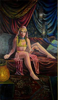 Scheherazade's Arabian Nights Tales Poster