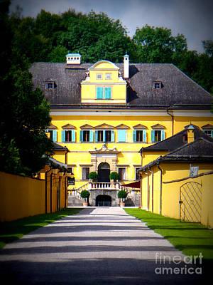Schloss Hellbrunn Poster by Carol Groenen