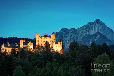 Poster featuring the photograph Schloss Hohenschwangau by Brian Jannsen