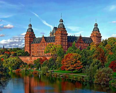 Schloss Johannisburg Poster