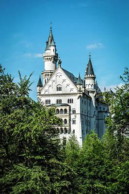 Poster featuring the photograph Schloss Neuschwantstein by David Morefield