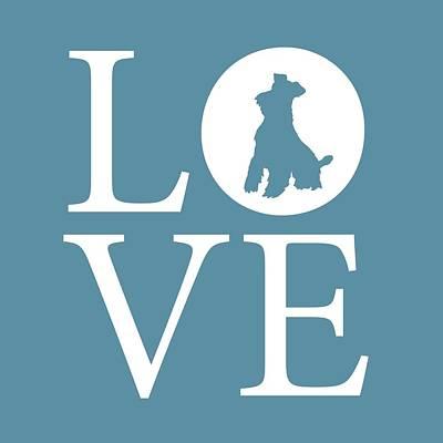 Schnauzer Love Poster