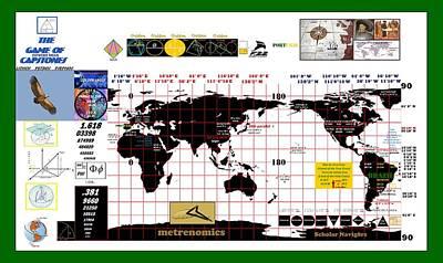 Scholar Navig8rs Poster by Peter Hedding