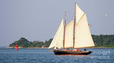 Schooner Cruise, Casco Bay, South Portland, Maine  -86696 Poster