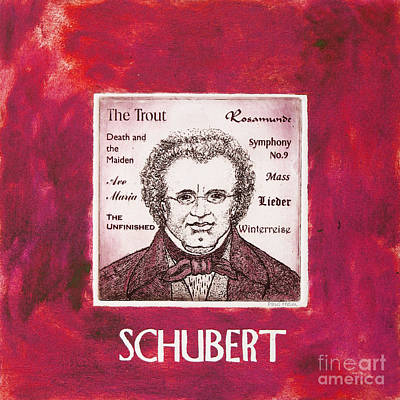 Schubert Poster by Paul Helm