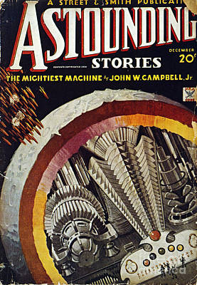Science Fiction Cover, 1934 Poster