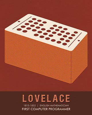 Science Posters - Ada Lovelace - Mathematician Poster