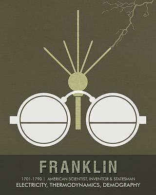 Science Posters - Benjamin Franklin - Scientist, Inventor, Statesman Poster