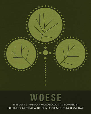 Science Posters - Carl Woese - Microbiologist, Biophysicist Poster