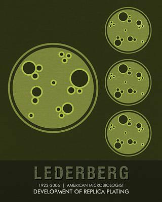 Science Posters - Esther Lederberg - Microbiologist Poster
