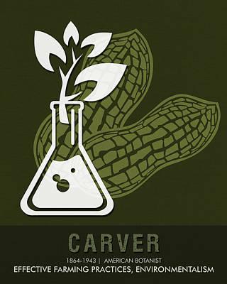 Science Posters - George Washington Carver - Botanist Poster