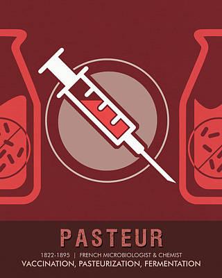 Science Posters - Louis Pasteur - Biologist, Microbiologist, Chemist Poster