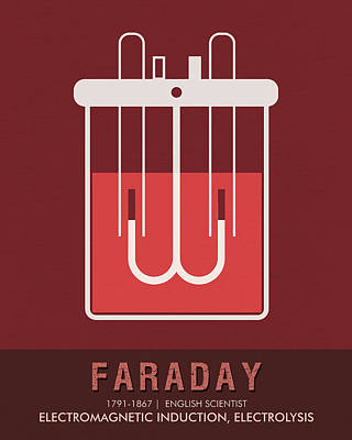 Science Posters - Michael Faraday - Physicist, Chemist Poster