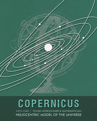 Science Posters - Nicolaus Copernicus - Astronomer, Mathematician Poster