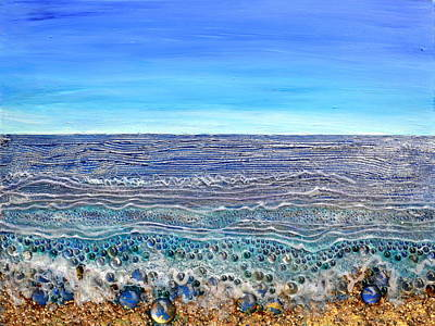 Scintillated Seascape Poster