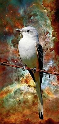 Scissor Tail Nebula Poster by Eric Allen