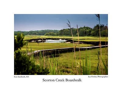 Scorton Creek Boardwalk Poster by Lee Fortier