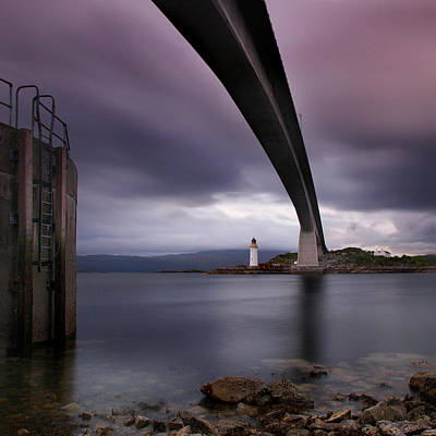 Scotland Skye Bridge Poster by Nina Papiorek