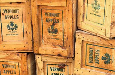 Scott Farm Apple Boxes Poster