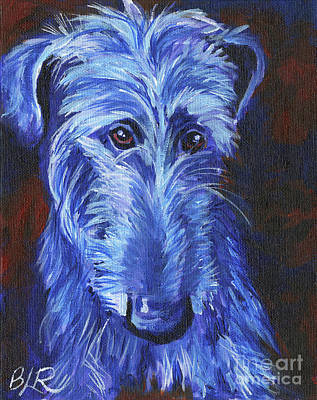 Scottish Deerhound Poster by Brandi Reyna