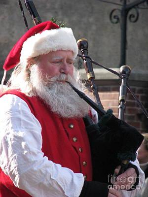 Scottish Santa Poster