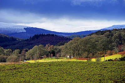 Poster featuring the photograph Scottish Scenery by Jeremy Lavender Photography