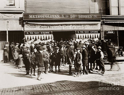 Scranton Pa Metropolitan 5 To 50 Cent Store Early 1900s Poster