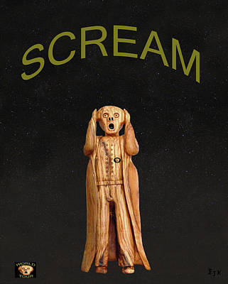 Scream Poster by Eric Kempson