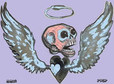 Screaming Hearts Poster by Robert Wolverton Jr