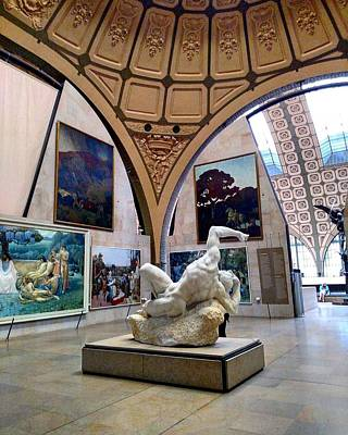 Sculpture And Art At Musee D'orsay Poster