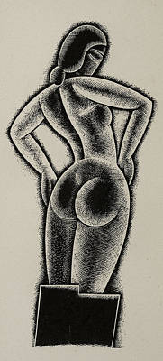 Sculpture Poster by Eric Gill