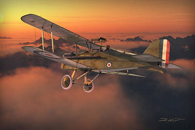 S.e. 5a On A Sunrise Morning Poster by David Collins