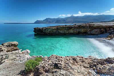 Sea Of Sicily, Macari Poster by Davide Damico